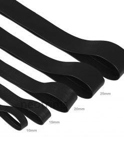 Black Leatherette PU Trimming Tape DIY,5 Sizes 10mm - 30mm,Faux Leather Vegan,UK
