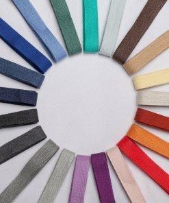 Neotrims Soft Herringbone Weave Cotton Trimming Ribbon, Dressmaking Craft Border