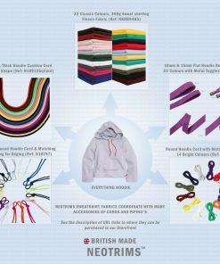 Drawstring 6mm,Cushion Piping Braided Hoodie Cord Trim Rope,Sweatshirt 23 Colors