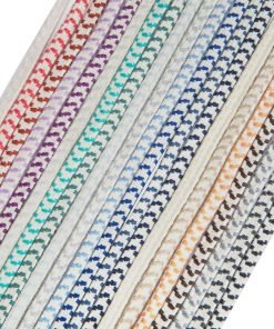 Elastic Shock Cord Bungee Rope 8mm Thick Chevron Design Strong,21 Colors Neotrim