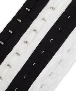 Neotrims Hook And Eye Tape Trim,100% Soft Cotton Fabric,NonRust,Corset Costume