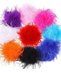 Marabou Ostrich Feather Boa Fur Scarf Trim,Decoration,Party,Costume,¼,½,1,2 Yard