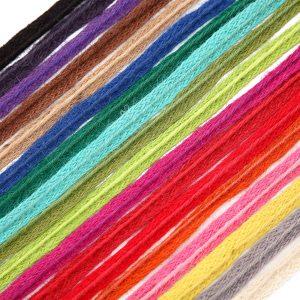 Neotrim Twine Spool,Jute String Cord & 10mm Matching Braid,Craft Gift Garden DIY