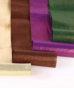Neotrims Shimmering Two Tone Soft Metallic Indian Salwar Sari Trimming Ribbon