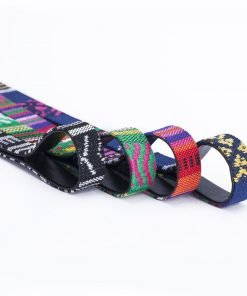 10mm PU Faux Leather Fabric Bonded Tape Strap Trimming, Aztec Weave, Neotrims