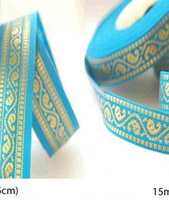 Neotrims Salwar Kameez Indian Sari Paisley Ribbons for Crafts 2 Size Combination