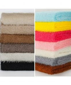 Shaggy Jersey Craft Fabric,Plush Soft Snarl Loops Pile,To Clear, SALE,12 colors