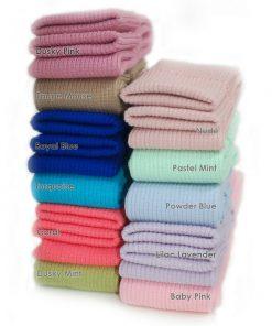 Rib Knit Cuffing Tubular & Matching Waistband Ribbing Welt Trimming,28 Colors,UK