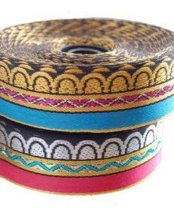 Brocade Style Edwardian Indian Ribbon Sari & Salwar Crafts Trimming by the Meter